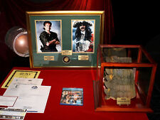 HOOK Robin Williams as PETER PAN, SIGNED, Prop CROC, Blu DVD, COA, UACC, Coin
