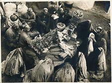 OUZBEKISTAN c. 1930 - Marché de Tissus - Div 12066