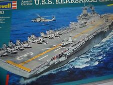 USS.kearsarge Revell model classification # 4 up to 150 parts 1:700 scale model
