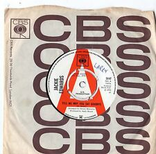 Jackie Edwards - Tell Me Why You Say Goodbye 1970 / PROMO