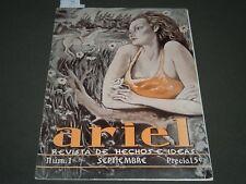 1939 ARIEL - REVISTA DE HECHOS E IDEAS SPANISH MAGAZINE ISSUE NO. 1 - ST 5186