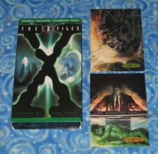 The X-Files Darkness Falls and The Erlenmeyer Flask on VHS Video Tape Excellent
