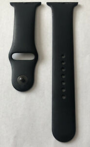 OEM Genuine Original Apple Watch Band 42mm/44mm Dark Black series M/L D55