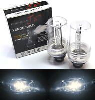 HID Xenon D2S Two Bulbs Head Light 5000K White Bi-Xenon Replacement Low Beam
