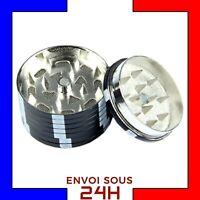 Grinder Herbe Jetons de poker Noir moulin broyeur tabac Metal Fer fumeur wee2