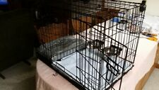 SMALL  DOG CAGE KIT /2 Doors /Divider/Crate Heavy Duty/  aides in potty training
