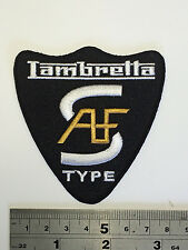 Lambretta A/F S Type Shield Patch - Embroidered - Iron or Sew On