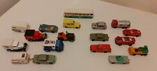 Job lot of Majorette and  1 Siku vintage diecast cars Made in France