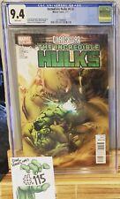 Incredible Hulks #620 CGC 9.4 1st Green Door Immortal Hulk Key
