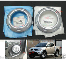 Fit Fog Lamp Cover Trim Mitsubishi L200 Triton Plus 2008 09 10 Genuine Part Set