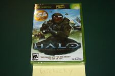 Halo: Combat Evolved GOTY (Xbox) NEW SEALED BLACK LABEL FOIL COVER Y-FOLD, MINT