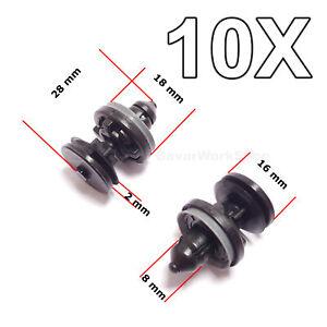 10X Interior Door Card, Trim Panel Retaining Clips for Ford Focus, C-Max