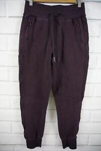 Lululemon Get Going Jogger Size 4 Black Cherry Purple Skinny Tapered Sweat Pants