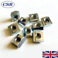 25x M5 Sliding T Nuts for 20x20 Aluminum Extrusion 6mm Slot