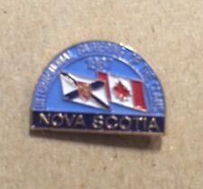 INTERNATIONAL GATHERING OF THE CLANS ~ 1987 ~ Nova Scotia Lapel Souvenir Pin