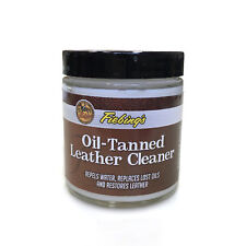 Fiebing's Oil-Tanned Leather Cleaner Treatment - Clean Replenish and Restore