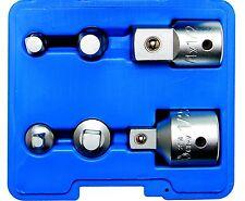 BGS adaptateur kit 6 pièces Adaptateur Clé à cliquet ECROU Kit tournevis clé