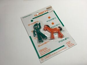 Jesco Super-Flex Gumbitty Gumby & Pokey Figures Prema Toy Co