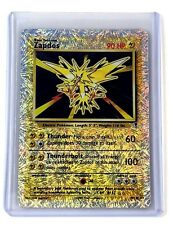 Pokemon Card Zapdos Legendary Collection 19/110 DAMAGED Reverse-Holo Rare TCG!!!