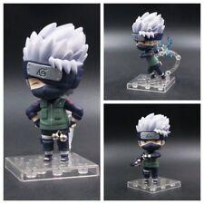 3pcs/set Anime Naruto Shippuden Hatake Kakashi Cute Mini PVC Figure New In Box