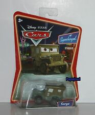Disney PIXAR Cars Willys Army Jeep Supercharged SARGE Mattel