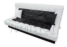"MODERN Sofa Bed COUCH SETTEE ""SIMONA"" storage Bonell Springs Polskie Wersalki"