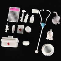 Fashionable Doll Accessories Medical Kit Pets Toy for Barbie Baby Girls FO