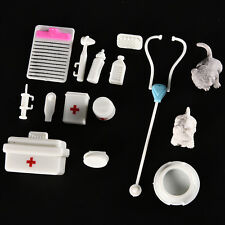 1 Set Fashion Doll Accessories Medical Kit Pets Toy for Barbie Baby Girls EW
