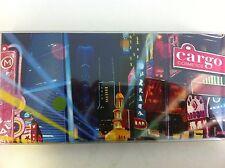 Cargo Cosmetics Shanghai Nights Eye Palette With Brush 12 x .03oz. NIB B22