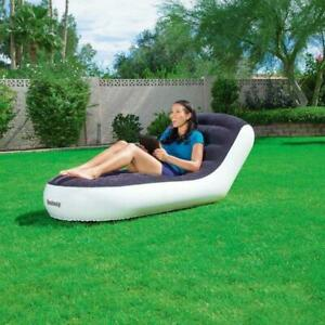Modern One Seat Portable Inflatable Bed Single Outdoor Inflatable Sofa Tatami Si