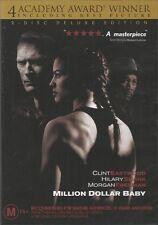 MILLION DOLLAR BABY - Clint EASTWOOD Morgan FREEMAN (2 DVD SET) NEW SEALED Reg 4
