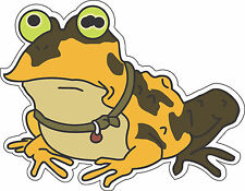 "Futurama Hypnotoad bumper sticker wall decor vinyl decal, 5""x 4"""