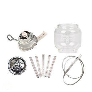 Feuerhand Ersatzteile - Glas Brenner Docht Meterware Schraube - Petroleumlampe