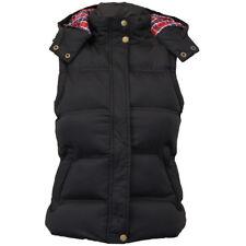Ladies Hooded Gilet Bodywarmer Womens Major High Street sleeveless puffer jacket