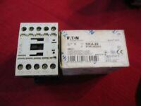 (a) DILA 22 EATON  CONTACTOR Relay, 10A, 48VDC, 2NO2NC XTRE10B22WD