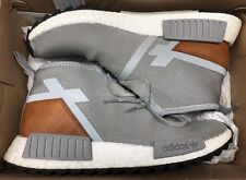 adidas NMD C1 TR Grey White Brown Trail Ultra Boost S81835 Sz 8.5