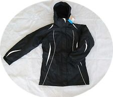 Columbia Sugar Women Winter Ski Jacket Coat Snow Parka 3in1 Black Small S
