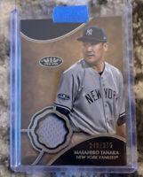 2019 Topps Tier One Masahiro Tanaka Jersery Relic /375 Yankees