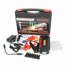 68800mAh Portable 4USB Power Bank 12V AUTO Car Jump Starter Rechargeable Battery