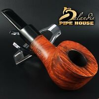 D.BALANDIS smooth Italian BRIAR wood - Tobacco smoking pipe - BUFFALO MALMAC