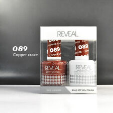 Reveal Gel Polish & Nail Lacquer Matching Duo Soak Off *Choose any one*