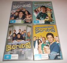 Scrubs Dvd Series Season 1, 2,3 & 4