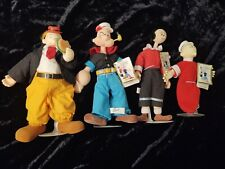 20� Popeye, Olive, Sweet Pea And Wimpy Doll Plush Toy Presents 1985