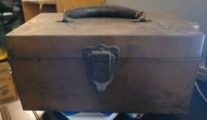 Vintage Kennedy Kits Tackle Box w/ Antique Lures, Reels, & More