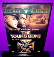 The Young Lions (DVD, 2001, Fox War Classics) Marlon Brando,Dean Martin B381