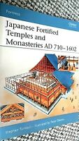 OSPREY FORTRESS #34: JAPANESE FORTIFIED TEMPLES AND MONASTERIES AD 710 - 1602