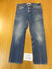 Used 505 regular fit levi's jean tag 38x34 meas 37x32.5 zip12308