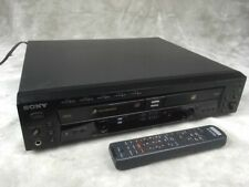 Sony RCD-W500C CD Changer and Recorder with Remote #1