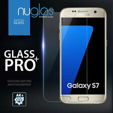 2 x Genuine Nuglas Samsung Galaxy S7 Tempered Glass Screen Protector Film Guard