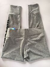 NWT Victoria's Secret PINK Ultimate Cuffed Ankle Legging Size S Gray
